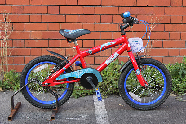 spiderman-bike
